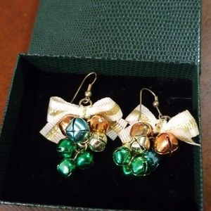 Christmas bells earrings